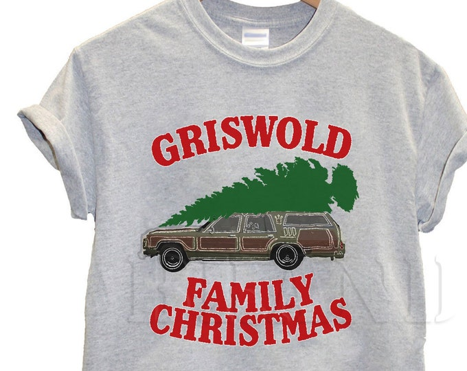Family Chirstmas T-shirt Griswold Unisex for Women's Mens Kid's  Tee Holiday Present Gift