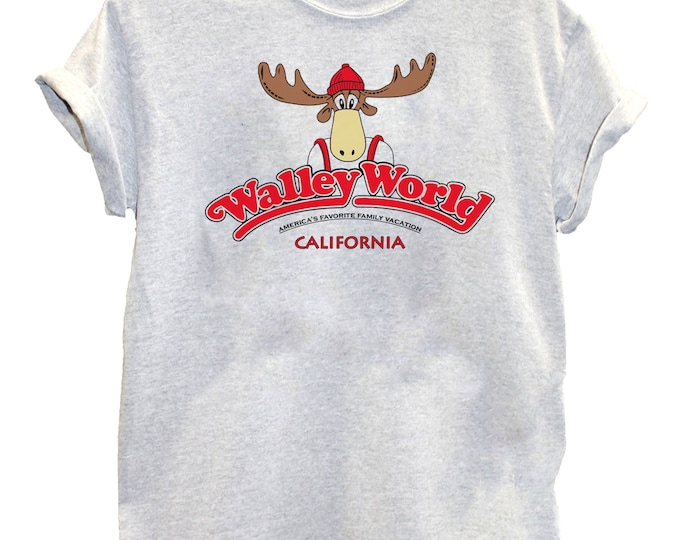 Wally World National Lampoons Movie Family Vacation T-shirt Women's Mens Kid's Holidays Gift