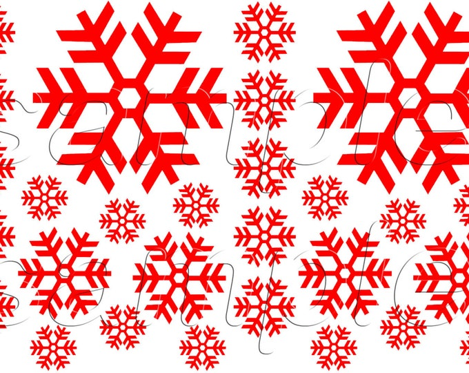 Big Snowflake Window Clings Sheet Vinyl Window Decorations for Christmas Gifts and Home Party 28 Decals