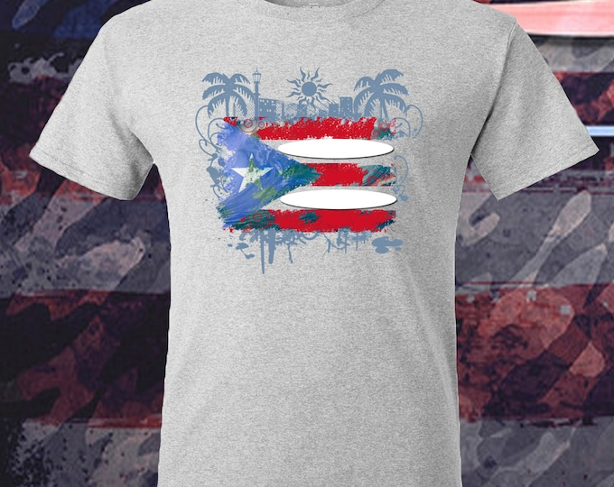 Puerto Rico Surfing Unique Design T-shirt Women's Mens Kid's Unisex Present Gift camisa Isla PR