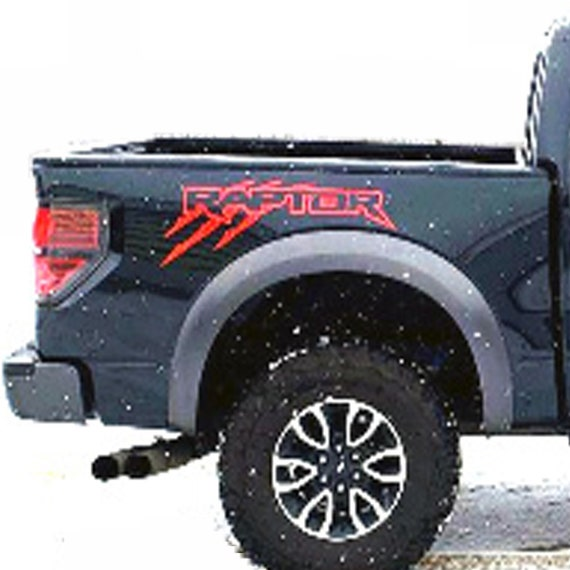 FORD 150 RAPTOR SVT Truck Side Bed Decals Vinyl Graphic Sticker 2010-2019
