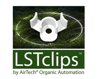 LSTclips™ - Low-Stress Training Clips, Plant Stem Trainer, Bender (30 Pack)