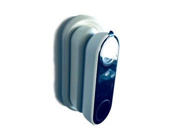 Nest Hello Wedge Kit (White)   - 30 to 45-degrees - by AirTech Home Automation
