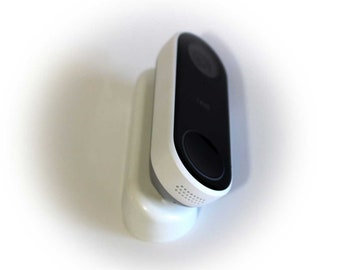 Nest Hello Wedge (White)   - 30 to 45-degrees - by AirTech Home Automation
