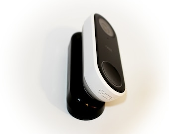 Nest Hello Wedge (Black)   - 30 to 45-degrees - by AirTech Home Automation