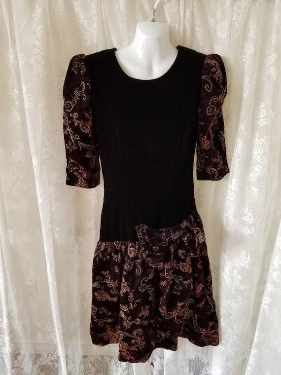 Orite 80s prom dress