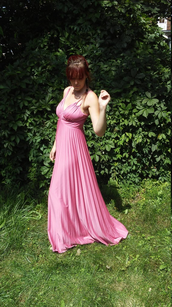 Pink 60s gown