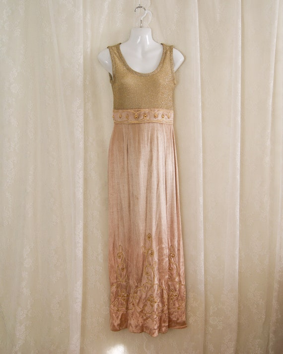 70s Huey Waltzer for Mannequin gown
