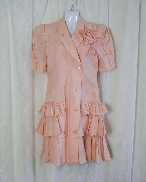 Pink Fidelio 80s day dress