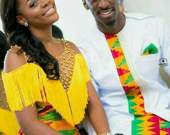 5f52a09acb African Clothing/ Couples Oufit/ Ankara Print/ African Couples Matching  Outfit/ Ankara Mixed Print
