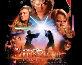 Revenge Of The Sith Etsy