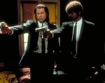 "New Giclée Art Print of 1994 Movie Promo of /""Pulp Fiction/"" Quentin Tarantino"