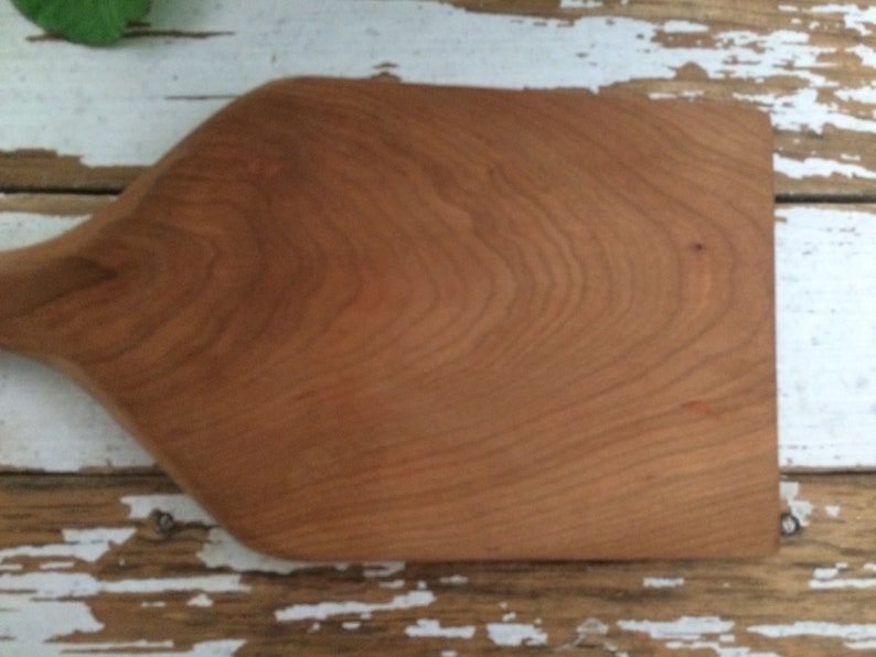 Vintage Wood Butter Paddle  Kitchen Utensil  Cheese Board  Charcuterie Display  Food Photo Prop