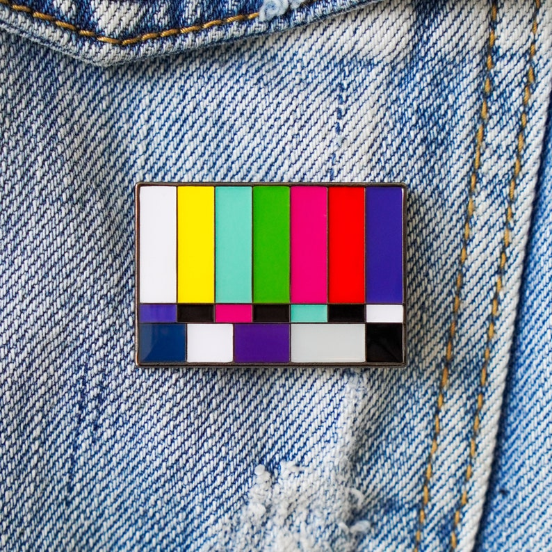 Bars and Tone Enamel Pin Perfect gift for filmmakers video image 0