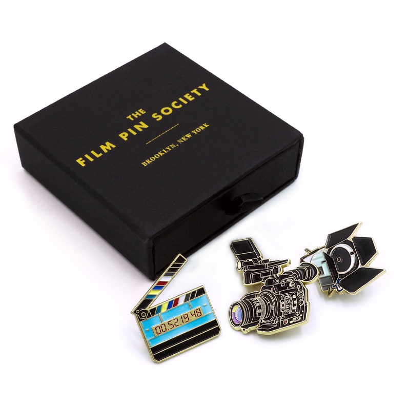 Light Camera Action Enamel pin movie box set. Perfect gift image 0