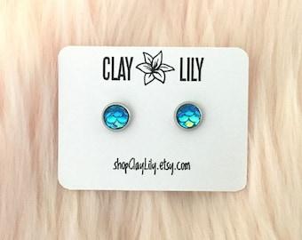 Mermaid Dangle Black Earrings  Little Mermaid Party Earrings  Jewellery For Mermaid Party  Cute Earrings A Gift For Her  mermaid Jewelry