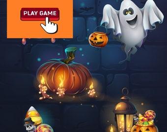 Halloween printable activities for kids, Halloween bingo game, Spooky word search, jokes, crafts, more instant download!