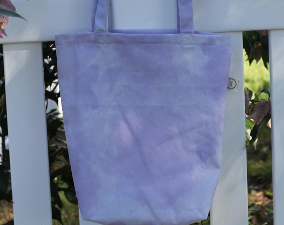 Organic Reusable Tote Bag , Shopping Tote,  Eco Friendly Bag, Gift Bag, Purple Tote Bag, Reusable Shopping Bag, Reusable Grocery Bag
