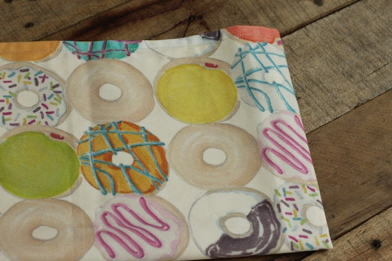Child's Organic Weighted Lap Pad,Donuts Organic Cotton, Glass Beads, School Lap Pad, Choose Your Weight, Autism, ADHD, ADD