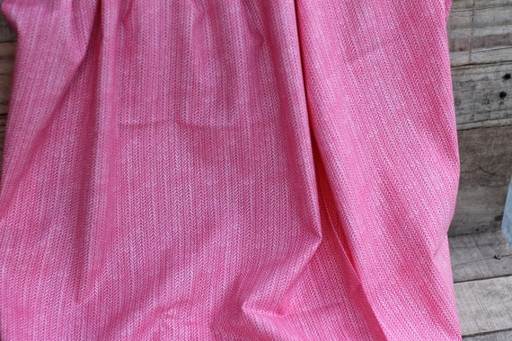 Adult/Teen Organic Weighted throw, Pink Herringbone, Valentines Day Gift, Glass Beads, Heavy Blanket, Organic Weighted Blanket