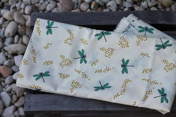 Organic Cotton Child's Weighted Blanket, Weighted Throw, Heavy Blanket, Sensory Blanket, Organic Throw, Glass Beads, Dragonfly, Autism Gift