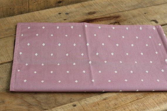 Child's Organic Weighted Lap Pad,Purple Diamonds Organic Cotton, Glass Beads, School Lap Pad, Choose Your Weight!