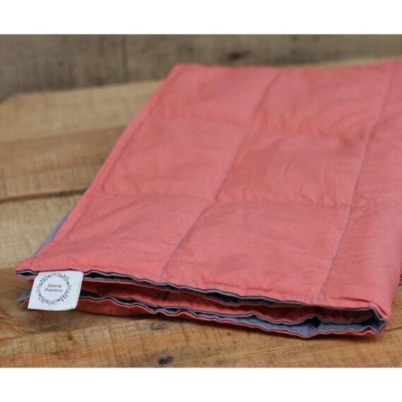 Child's Organic Weighted Lap Pad Custom Kids Lap pad Organic Cotton, Sensory Lap Pad, 12X20, Choose Your Fabric, Glass Beads