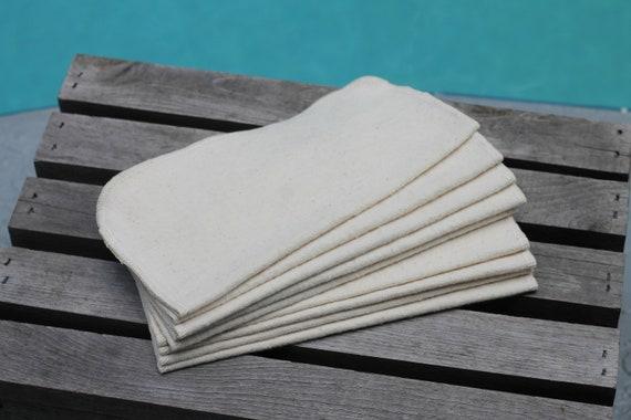 Reusable Organic Flannel Wipes, 9X9, Organic Face wipes, Organic Reusable Baby Wipes, Reusable Baby Wipes, Family Cloth, Reusable Cloths