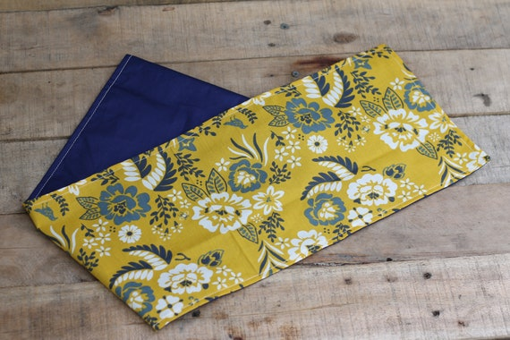 Adult Organic Weighted Shoulder Wrap, Floral Organic Cotton, 5 Lbs, Glass Beads, Gift for Her, Relaxation, Stress Relief, Spa Gift