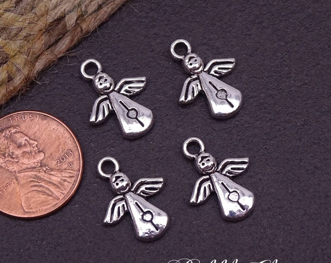 12 pc Angel, Angel charm, alloy charm, charm, charms, box 2