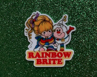 5pc. Rainbow Brite, Planar Resin Flatback