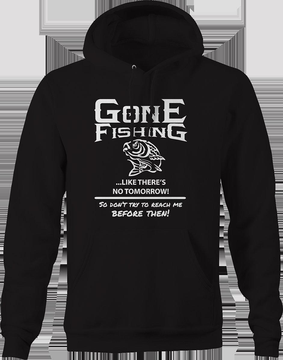 Parti pêche comme il n y a pas demain basse à l extérieur Sweat à capuche 06e5d944799b