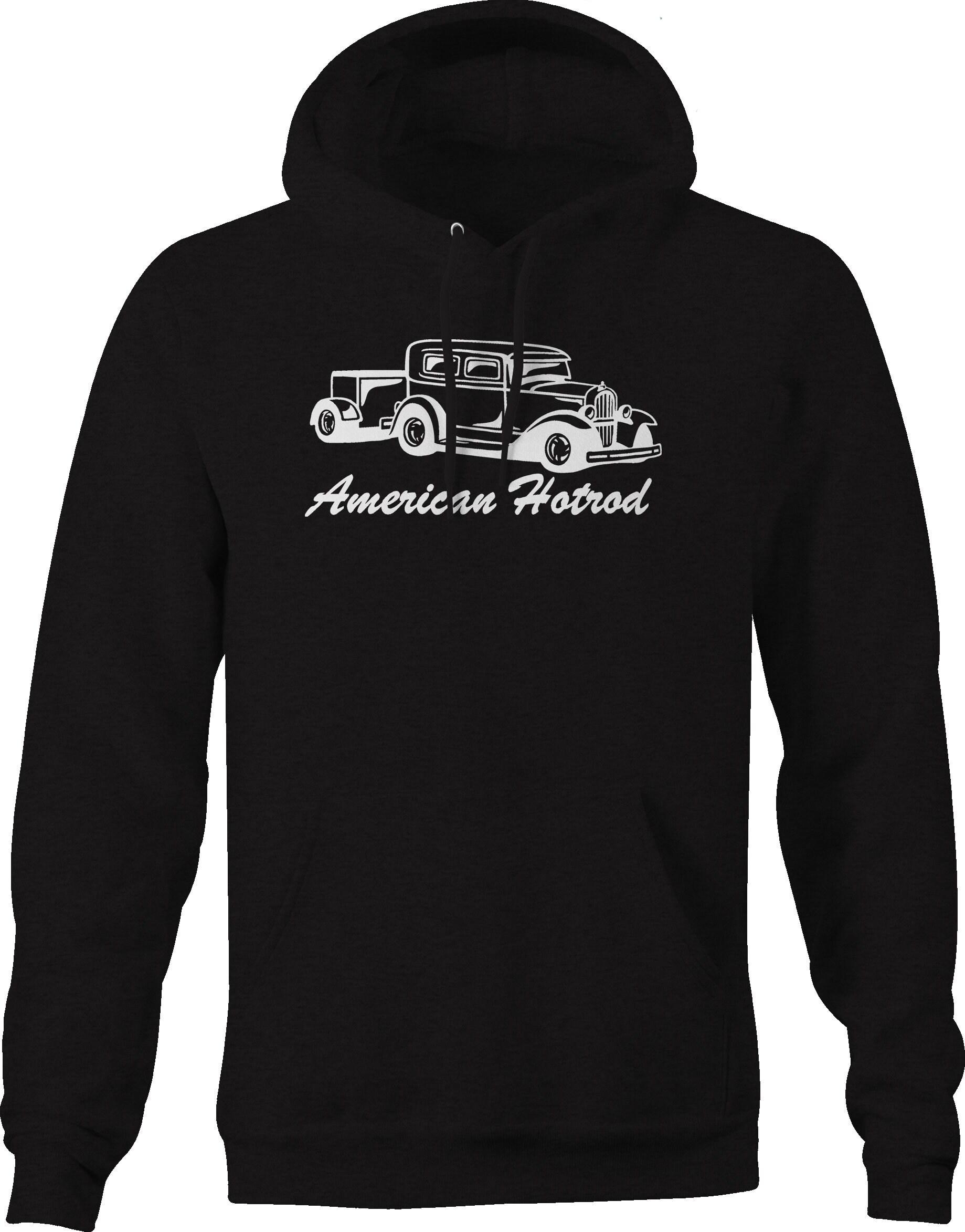 American Classic Hotrod Saloon berline avec remorque Sweatshirt à à Sweatshirt capuche 729104