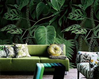 Plant Wallpaper Etsy