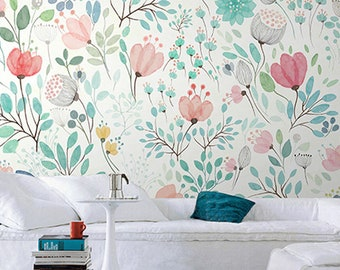 Girls Room Wallpaper Etsy