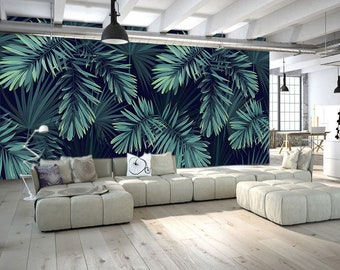 tropical interior design beautiful home interiors.htm oil painting dark color hand painted tropical plants leaf etsy  color hand painted tropical plants leaf