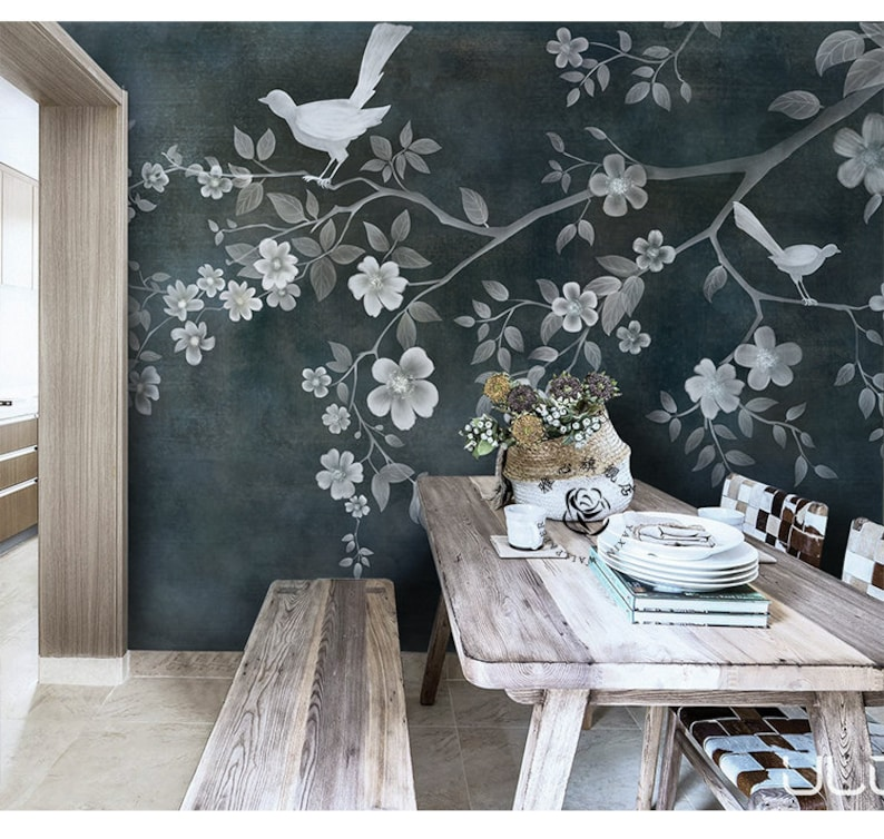 Trees and Shrubs in Color Wall Mural Photo Wallpaper GIANT DECOR Paper Poster