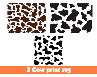 cow template etsy