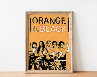"Orange Is The New Black Poster Mini 11/""X17/"""