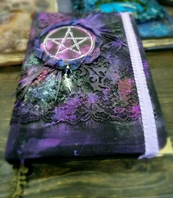 Book of Shadows Dream Journal Grimoire Journal Diary Unusual gift Notebook Aged paper Custom Witchcraft Wicca Spell Book Handmade notebook