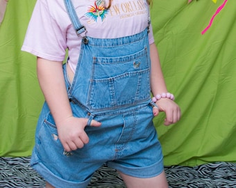 fd65f40944 Vintage 90s Countryseat Jeanswear Brand Overalls with Butterfly Embroidery  - Size L