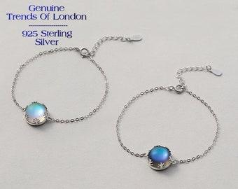 AURORA BOREALIS Halo Crystal BRACELET Trends Of London™ 925 sterling silver