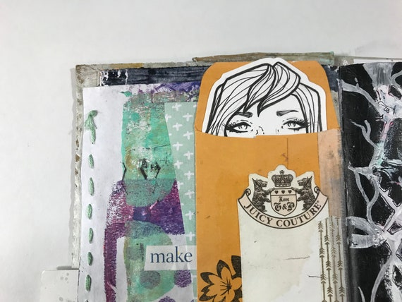 Art Journal Drawing Faces
