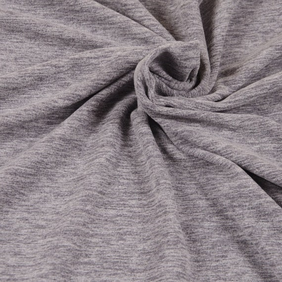Comic Cats grau Baumwoll-Stretch-Jersey Hilco Shirtstoff 25 cm Kinderstoff