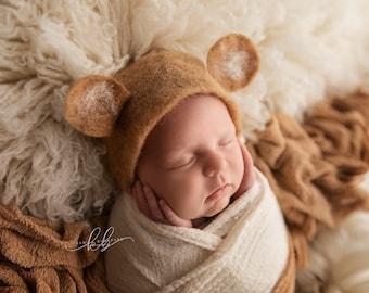 Bear Skin Felt Skin newborn newbornphoto
