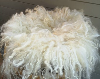 felt wool curl doilies /layer