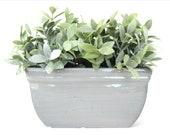Ceramic Windowsill Planter 9 quot 5 quot Windowsill Rectangle Planter Ceramic Rectangle Herb Planter Ideal Christmas Gift