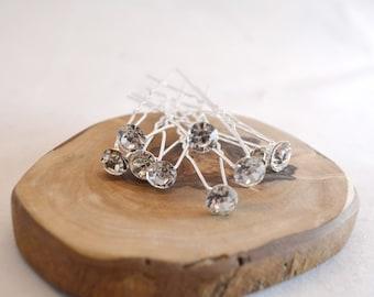 0.99 Euro/ p. pcs. diamond hairpins bridal hairstyle high-cut hairstyle