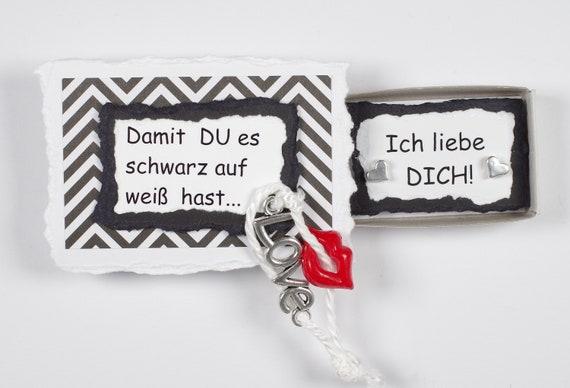 Geschenkbox Fur Verliebte Spruch Valentinstagich Liebe Etsy