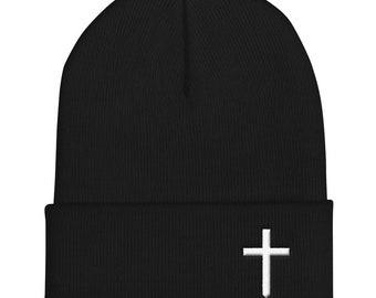 f5bf66414 Christian Cross Logo Wool Blend Snapback Hat   Etsy